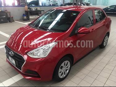 Foto venta Auto usado Hyundai i10 Sedan GL MID Aut (2018) color Rojo precio $169,000