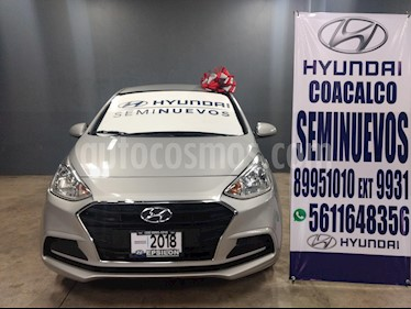Foto venta Auto usado Hyundai i10 Sedan GL MID (2018) color Plata precio $175,000