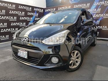Foto venta Auto usado Hyundai i10 Sedan GLS (2017) color Negro precio $152,900