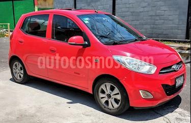 Foto venta Auto usado Hyundai i10 Sedan GLS (2012) color Rojo precio $92,000