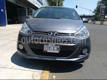 Foto venta Auto usado Hyundai i10 Sedan GLS (2017) color Gris precio $159,000