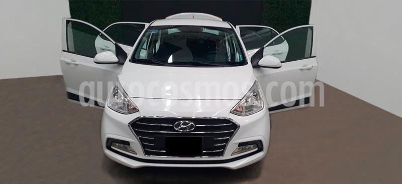 Hyundai i10 Sedan GLS usado (2020) color Blanco precio $194,999