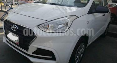 Hyundai i10 Sedan GL usado (2018) color Blanco precio $155,000