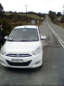 Hyundai i10 1.1 GLS Plus Ac  usado (2014) color Blanco precio $3.900.000
