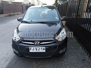 Hyundai i10 1.1 GLS  usado (2013) color Gris Oscuro precio $3.600.000