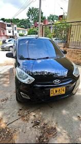 Hyundai i10 1.1 usado (2012) color Negro precio $16.000.000