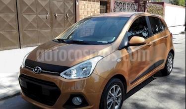 Hyundai i10 1.1 usado (2014) color Marron precio $14.000.000