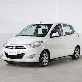 Hyundai i10 GLS usado (2015) color Blanco precio $485.000