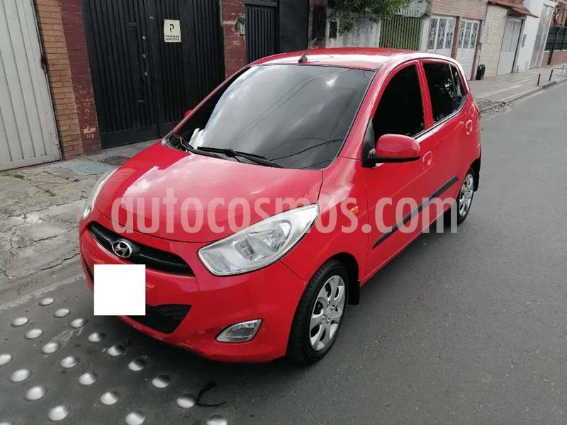 Hyundai i10 GLS Facelift usado (2013) color Rojo precio $430.000