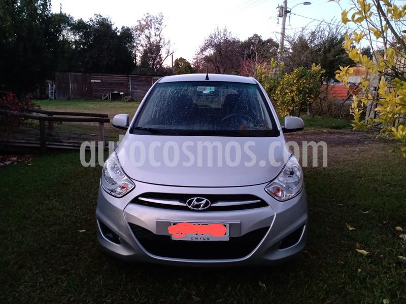 Hyundai i10 1.1 GLS  usado (2011) color Gris Plata  precio $3.200.000