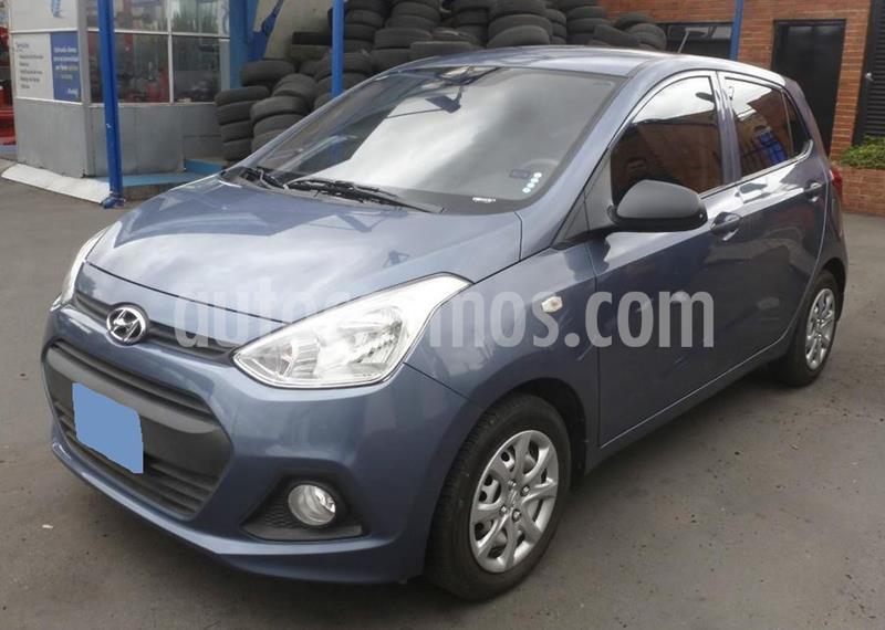 Hyundai i10 1.1 usado (2015) color Azul precio $16.000.000