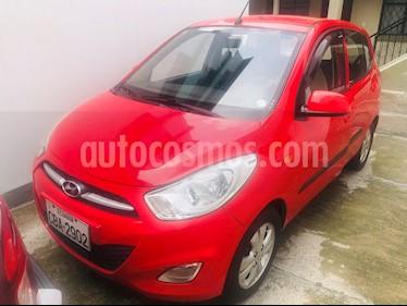 Hyundai i10 1.2 Ac  usado (2013) color Rojo precio u$s9.800