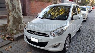 Hyundai i10 GLS Aut usado (2013) color Blanco precio $345.000