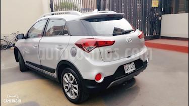 Hyundai i20 Active  1.4L Active Sport usado (2018) color Plata precio $14,999