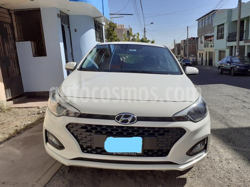 Hyundai i20 1.4L Full  usado (2019) color Blanco precio $14,400