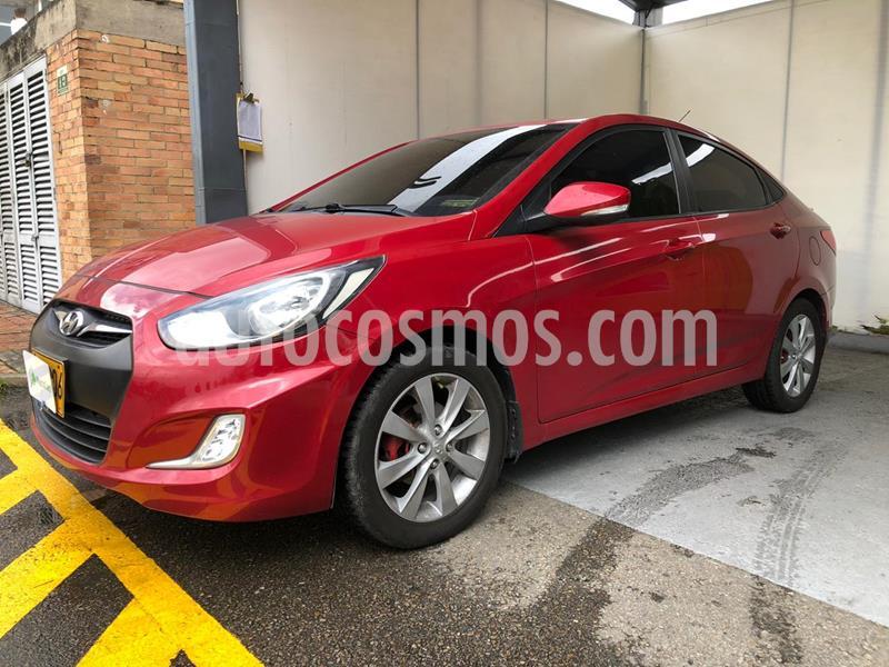 Hyundai i25 Sedan 1.6 usado (2014) color Rojo precio $28.990.000