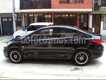 Hyundai i25 1.4 usado (2013) color Negro precio $29.000.000