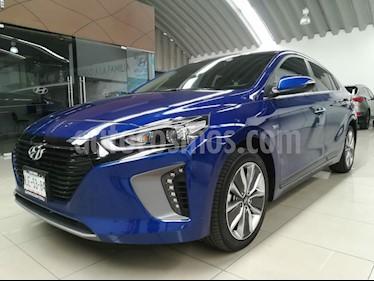 Foto venta Auto usado Hyundai Ioniq Limited (2018) color Azul precio $455,000