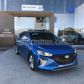 Foto Hyundai Ioniq Limited usado (2018) color Azul precio $375,000