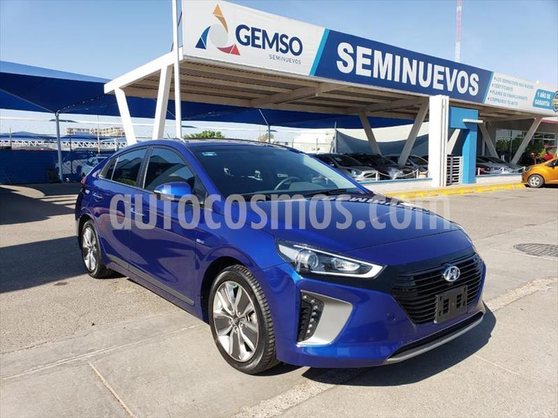 Hyundai Ioniq Limited usado (2019) color Azul Electrico precio $360,000