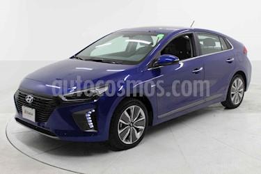 Hyundai Ioniq 4p Limited Hibrido L4/1.6 Aut usado (2019) color Azul precio $399,000