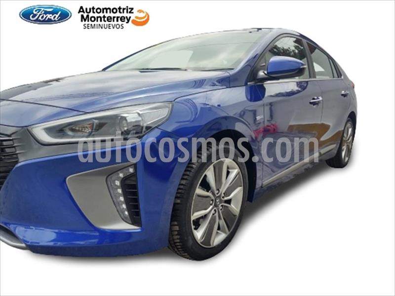 Hyundai Ioniq Limited usado (2018) color Azul Electrico precio $349,900