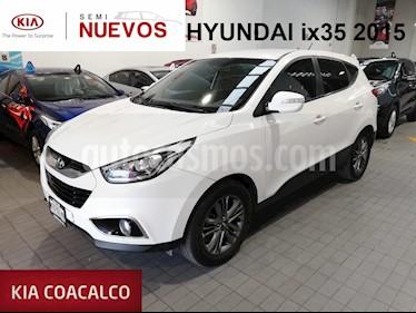 Foto venta Auto usado Hyundai ix 35 5p GLS Premium L4/2.0 Aut (2015) color Blanco precio $245,000