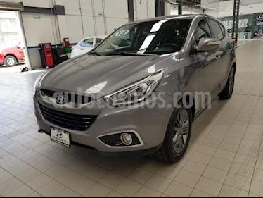 Foto venta Auto usado Hyundai ix 35 5p GLS Premium L4/2.0 Aut (2015) color Gris precio $249,000
