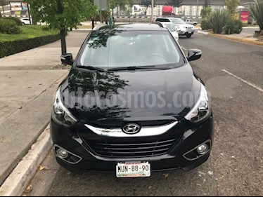 Hyundai ix 35 GLS Premium Aut usado (2015) color Negro precio $249,500