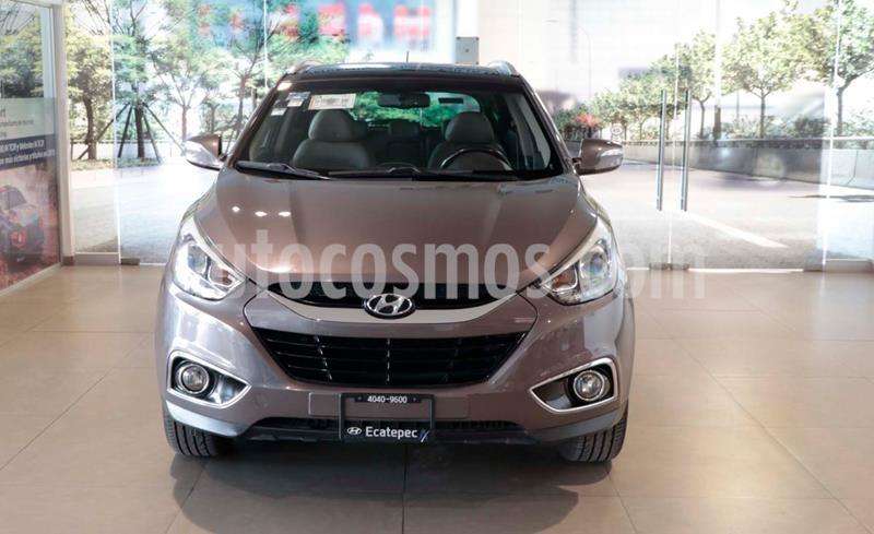 Hyundai ix 35 Limited Aut usado (2015) color Cafe precio $213,500