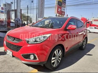 Hyundai ix 35 5P LIMITED TA A/AC. AUT. PIEL MP3 QCP F. NIEBLA R usado (2015) color Rojo precio $215,000