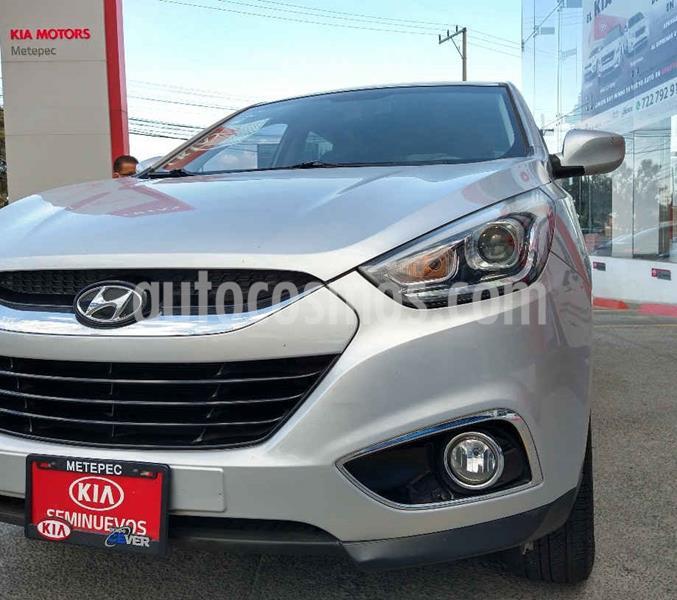 Hyundai ix 35 GLS Aut usado (2015) color Plata precio $189,900