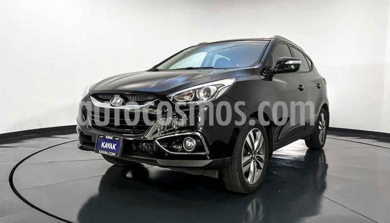 Hyundai ix 35 Limited Navegador Aut usado (2015) color Negro precio $249,999