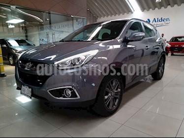 Hyundai ix 35 5p GLS Premium L4/2.0 Aut usado (2015) color Gris precio $215,000