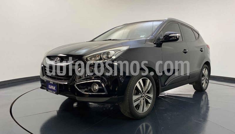 Hyundai ix 35 Limited Navegador Aut usado (2015) color Negro precio $239,999