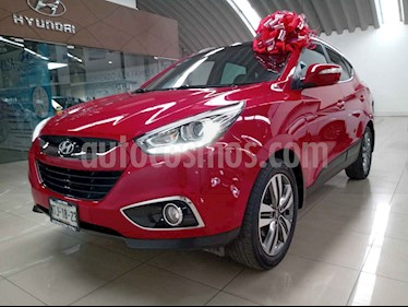 Hyundai ix 35 5p Limited L4/2.0 Aut usado (2015) color Rojo precio $225,000