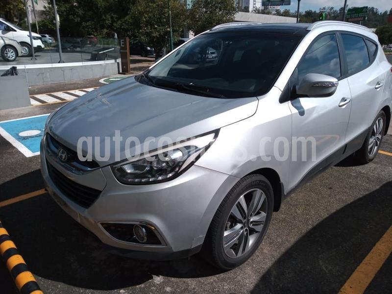 Hyundai ix 35 Limited Aut usado (2015) color Plata Dorado precio $215,000