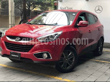 Hyundai ix 35 GLS Premium Aut usado (2015) color Rojo precio $215,000