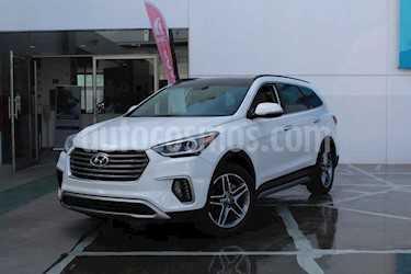 Foto Hyundai Santa Fe 2.0L Turbo Limited Tech usado (2019) color Blanco precio $599,000