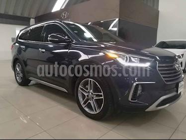 Foto venta Auto usado Hyundai Santa Fe 2.0L Turbo (2018) color Azul precio $499,000
