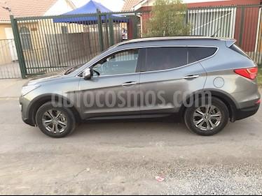 Hyundai Santa Fe 2.2 GLS CRDi 4x2 usado (2013) color Plata Titanium precio $12.000.000