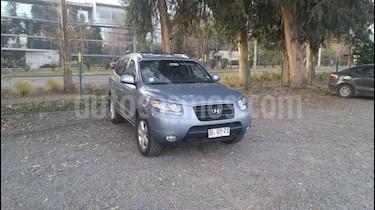 Hyundai Santa Fe 2.2 GLS CRDi 4x4 Aut usado (2008) color Celeste precio $6.500.000