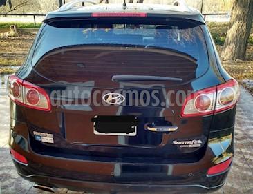 Hyundai Santa Fe 2.2 GLS CRDi 5 Pas Full Premium Aut usado (2010) color Negro Phantom precio $550.000