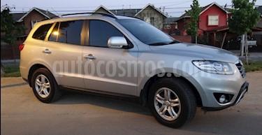 Hyundai Santa Fe 2.2L GLS CRDi 4x4 Aut Full usado (2012) color Plata precio $8.500.000