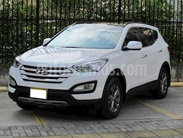 Hyundai Santa Fe 2.4 4x2 Aut usado (2015) color Blanco precio $44.000.000