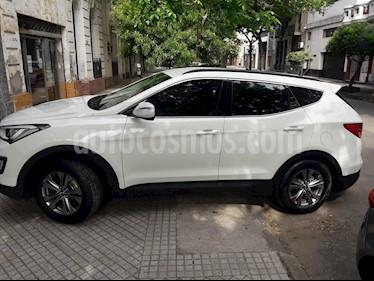 Hyundai Santa Fe 2.4 4x2 Full 7 Asientos usado (2014) color Blanco precio $1.300.000
