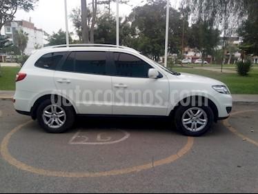 Hyundai Santa Fe 2.4 GL 4x2 Aut usado (2011) color Blanco precio u$s12,700