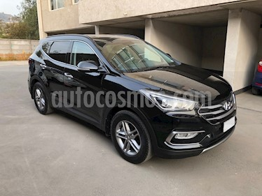 Hyundai Santa Fe 2.4 GLS 4x2 Aut usado (2017) color Negro precio $14.490.000
