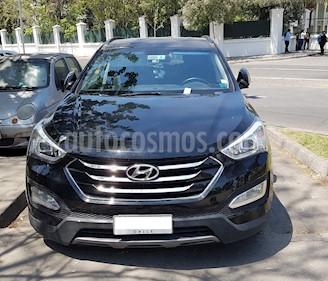 Hyundai Santa Fe 2.4 GLS 4x2 Aut usado (2016) color Negro precio $13.850.000