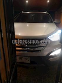 Hyundai Santa Fe 2.4 GLS 4x2 Full usado (2014) color Plata precio $10.550.000